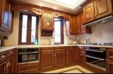Nuovo armadio da cucina domestico standard della mobilia di disegno E1 Europa Yb1709051