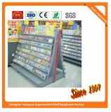 Supermarkt-Regal für Bücher Maganizes und CD Video