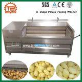 Commercial Vegetable Machine à laver U-Shape Peeling la rondelle de pomme de terre