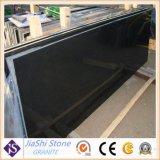 Opgepoetst/Geslepen/de Gevlamde Zwarte Grote Plakken van het Graniet voor Countertop/de Bovenkant van de Ijdelheid/de Tegel van de Vloer