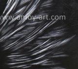 Абстрактные белые крылья картины маслом для дома украшения