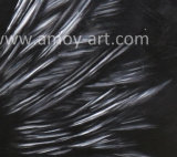 Home Decorationのための現代Abstract White Wings Oil Painting