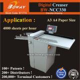 4000sheets/H Digital A3 A4 9 Llines Creaser Perforator-Maschine