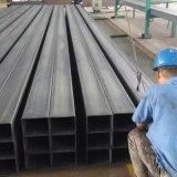 까만 온화한 강철 사각 관 구렁 단면도 중국제 제조자
