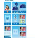 """أسن أسنانيّة يبيّض آلة نظامة [4ليغت] مصدر 7 """" لمس عرض إلكترونيّة"""