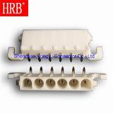 Cabeçote de conector masculino feminino PCB de ângulo reto