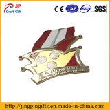Medaglia su ordinazione di nuoto del metallo con la sagola