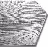Appuyez sur la plaque de grain de bois décoratifs