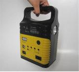 FMのラジオ3790が付いている7500mAhリチウム電池の太陽エネルギーバンクの中の携帯用小型太陽ランプ