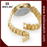 Vigilanza elegante di lusso dei monili di marca di quarzo analogico delle signore di Belbi
