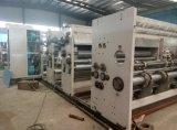 Impression à l'encre à grande vitesse automatique de l'eau et machine de entaillage et de découpage