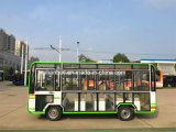 19-23eléctrico puro plazas Bus turístico con una larga gama de conducción