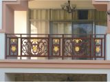 Ковка чугуна ограждая для загородки балкона сбывания/ковки чугуна моделей
