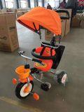 Kind-Kinder Trike Dreiradfahrt auf Spielzeug-Babypram-Spaziergänger My-550