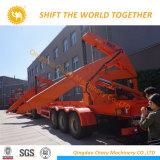 HOWO Rhd Sidelifter 20FT conteneur conteneur semi-remorque de grue de chargement latéral