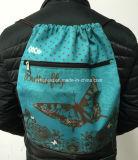 Sac à dos de promotion de 2018 Combinaison de deux couleurs Travel & Sport Sac avec lacet de serrage
