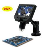 Câmera Digital USB microscópio com ecrã OLED de 4,3 polegadas 600X