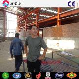 Estructura de acero de la luz de prefabricados de medio ambiente Fábrica edificio