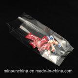 Saco de embalagem plástica do lado médio de selagem do meio para doces de pão