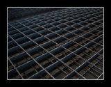Unbehandelte Standardgrößen-Stahl-Vergitterung