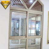 Finestra di alluminio della tenda della finestra di scivolamento di Widnow della stoffa per tendine
