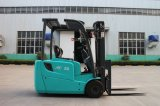 Hoge Elektrische Opheffende Vrachtwagen Performanc 1.6 Ton Elektrische Vorkheftruck de Met drie wielen van 2 Ton