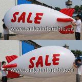 Piccolo dirigibile gonfiabile del PVC dell'aeroplano di modello dell'aerostato dell'elio da vendere