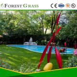 Herbe artificielle bon marché pour jardin propre (CS)