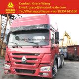 Rhd 371HP4257Sinotruk zz s3241w tête HOWO remorque de camion 6x4