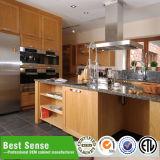Joenony U-Form weißer Küche-Schrank