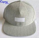 Surtidor tejido del sombrero del panel de la escritura de la etiqueta 5