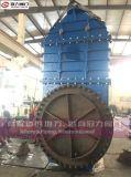 Dn1800 de Kneedbare Klep van de Poort van het Mes van het Ijzer met Elektrische Actuator