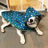Het huisdier kleedt de Niet-toxische Waterdichte Nylon Regenkleding van de Hond van de Polyester