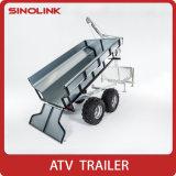 De gegalvaniseerde Aanhangwagen van de Goederen ATV van de Lading van de Doos van het Nut van 1 Ton Grote