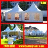 PVC alumínio Pinnacle Gazebo Canopy tenda 3X3, 4X4, 5X5, 6x6m