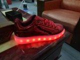 Manchas de los bienes, LED Zapatillas, zapatos de la luz de los hombres