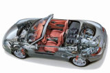Т-образный жгут проводов звукового сигнала управления Chrysler/GM/Toyota заглушки жгута проводов автомобильной аудиосистемы