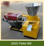 الصين ممون [بورتبل] [15هب] ديزل صغيرة خشبيّة ضاغط كريّة آلة