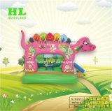 De roze Opblaasbare Uitsmijter van de Dinosaurus voor Pret
