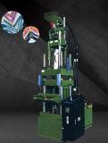 Machine de moulage injection supérieure verticale de PVC avec le système servo