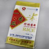 Печать 25 кг 50 кг пластмассовых размер упаковки PP тканый мешок риса