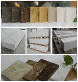 O acrílico da resina do material de construção cobre a superfície do sólido de Corian