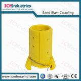 Accoppiamento di tubo flessibile di gomma del Sandblast di nylon del Sandblast 1-1/2 ''