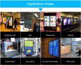 Vorzügliches technisches Screen-Video, das vertikalen LCD transparent bekanntmacht