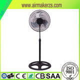 3 Schaufel-beweglicher elektrischer Standplatz-Ventilator für Hauptgebrauch