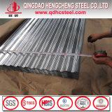 亜鉛は電流を通された波形の鋼鉄に塗りシートに屋根を付ける