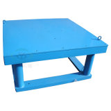 Konkrete vibrierende Tisch-Maschine für die Herstellung des Sicherheitskreis-Fliese-/Straßenbetoniermaschine-Blockes