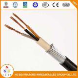 Kv 0.6/1Cu/XLPE/câble d'alimentation swa/PVC
