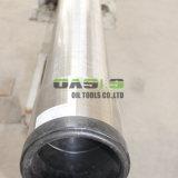 Draht-Bildschirm des Keil-SS304/Draht eingewickeltes Quellfilter-Ineinander greifen-Edelstahl-Grobfilter-industrielles Rohr