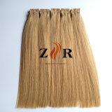 Legare la trama con un nastro brasiliana della pelle dell'unità di elaborazione dei capelli dei capelli nell'estensione dei capelli